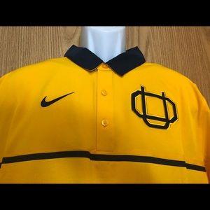 Nike Oregon Ducks webfoot Polo rugby shirt men's